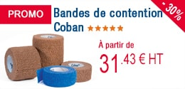 PROMO - Bandes de contention Coban