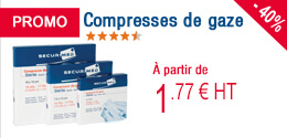 PROMO - Compresses de gaze
