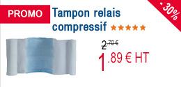PROMO - Tampon relais compressif