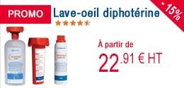 PROMO - Lave-oeil à la diphotérine