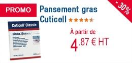 PROMO - Pansement gras Cuticell