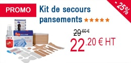 PROMO - Kit de secours pansements