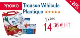 PROMO - Trousse Véhicule Plastique