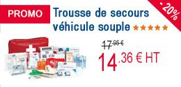 PROMO - Trousse véhicule souple