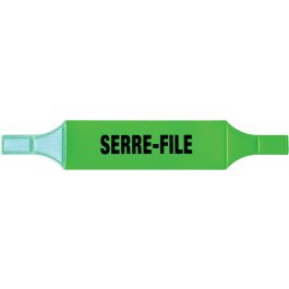 Brassards PVC fluo Serre-file et Guide-file