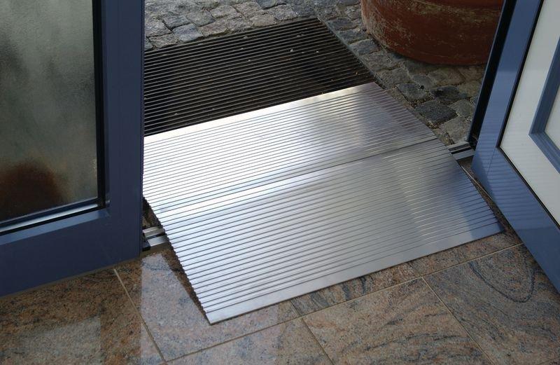 Plaques pour passage d'obstacles en aluminium