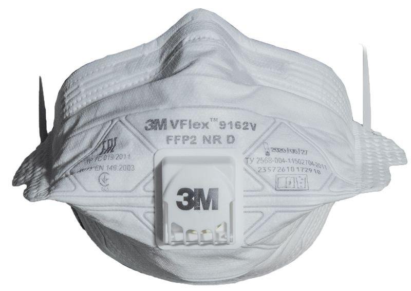 Masques économiques pliables 3M™ Vflex™
