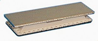 Lot 25 Clips magnétiques adhésifs pour badges