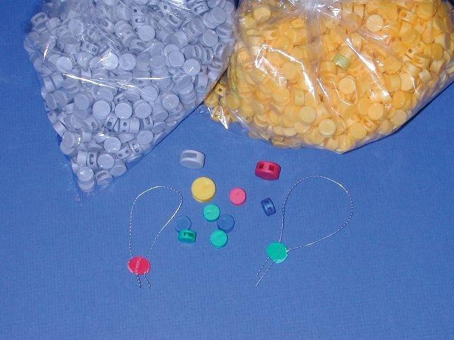 Plombs à sceller en plastique sans fil