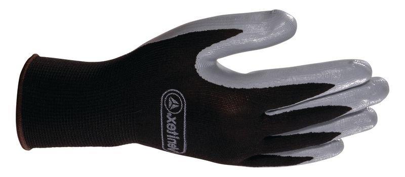 Gants de sécurité nitrile gris / noir