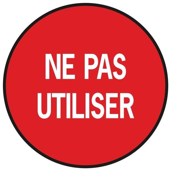 "Pastilles multi-usages ""Ne pas utiliser"""