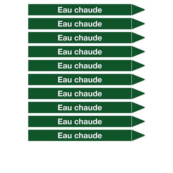 Marqueurs de tuyauterie CLP Signals Eau