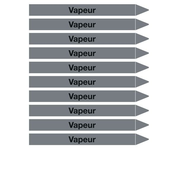 Marqueurs de tuyauterie CLP Signals Vapeur