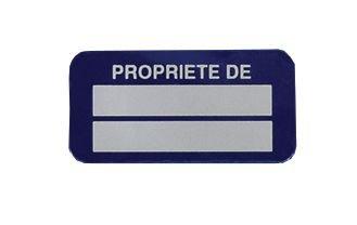Etiquettes de propriété personnalisables