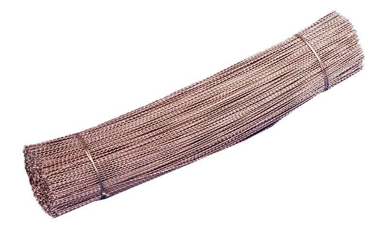 Fils perlés galvanisés coupés