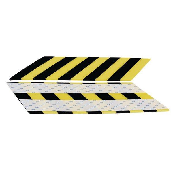 Amortisseur mousse protection plate ou d'angle