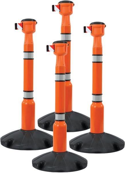 Kit 4 Skipper™ + 4 poteaux avec base