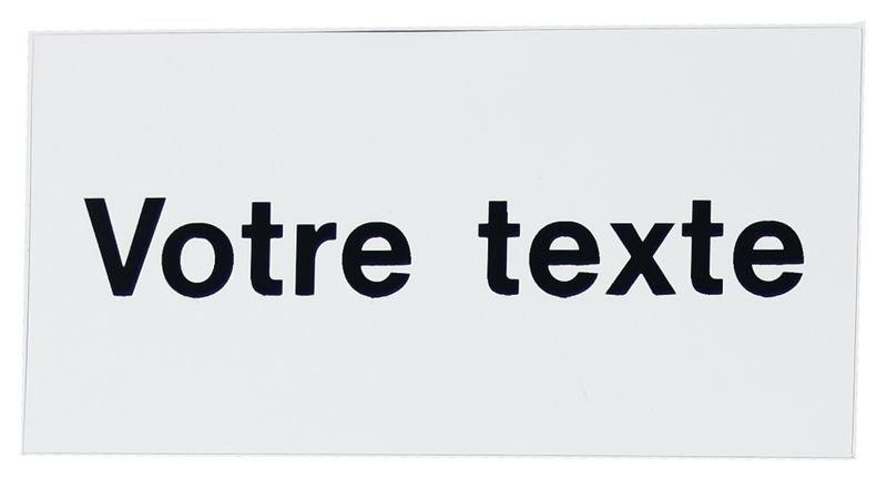 Etiquettes magnétiques personnalisées