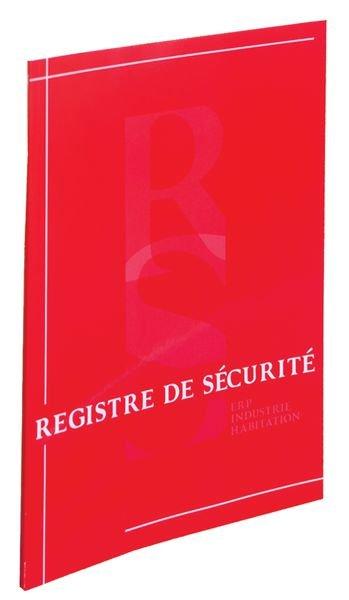 Registre de Sécurité A4 pour ERP/Habitation/Industrie