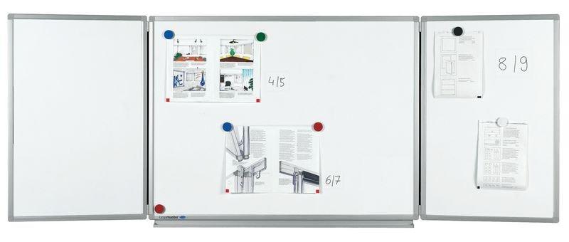 """Tableaux blancs magnétiques """"ECO"""" 3 panneaux"""