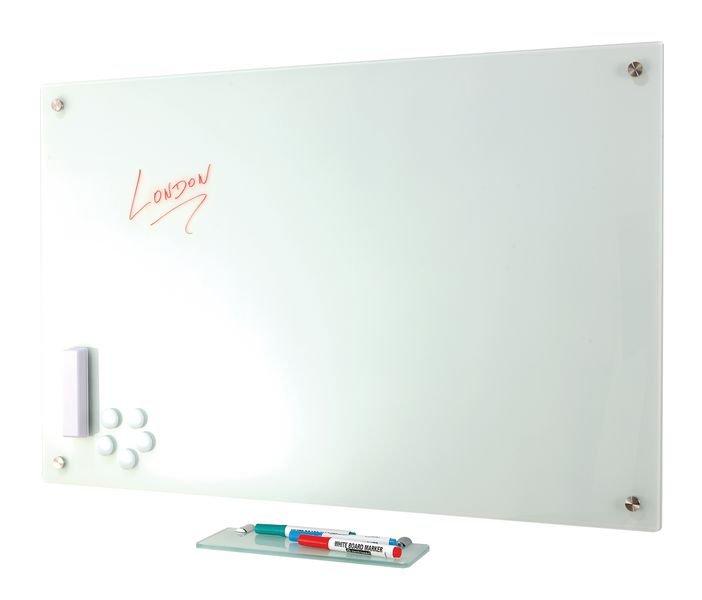 Tableaux blancs 3 panneaux design verre trempé