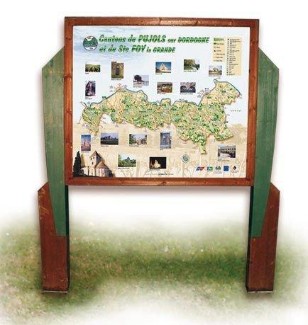 Planimètre en bois Evasion Format paysage