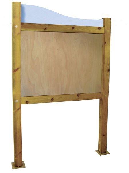Planimètre bois avec bandeau et panneau contre-plaqué