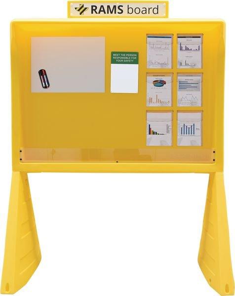 Station d'information jaune RAMSBOARD