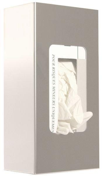 Distributeur de gants jetables en inox
