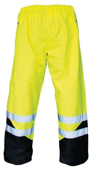 Pantalon de pluie haute visibilité jaune ou orange