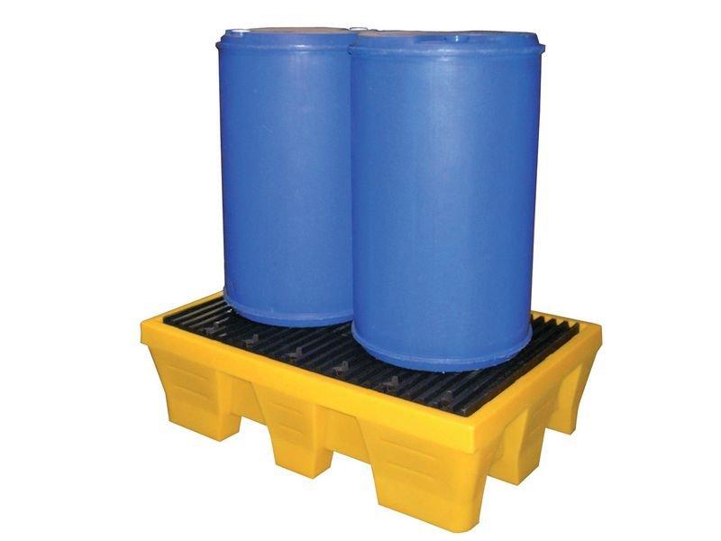Bac de rétention 240 l en polyéthylène