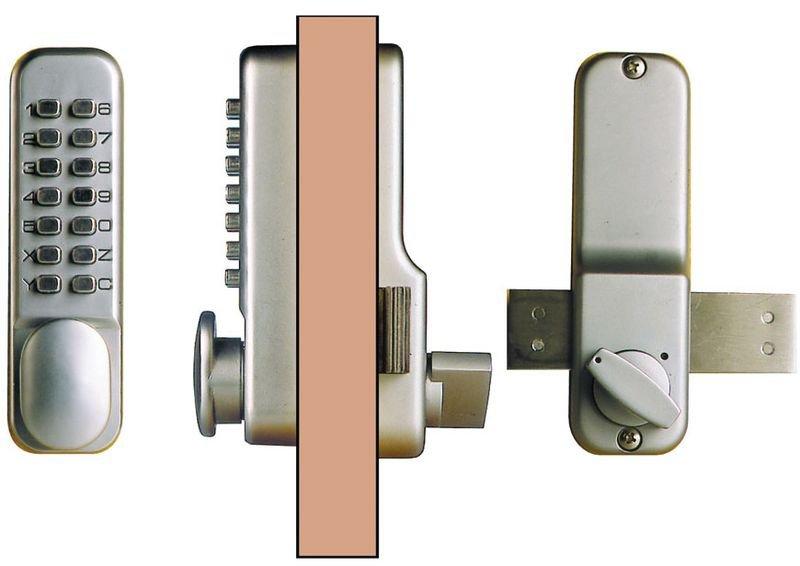 Contrôle d'accès à serrure mécanique