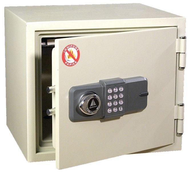 Coffres ignifugés pour protection des documents