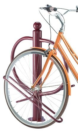 Range 2 vélos poteau
