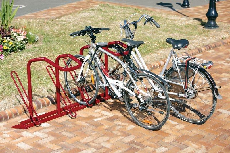 Range-vélos pour antivol en U