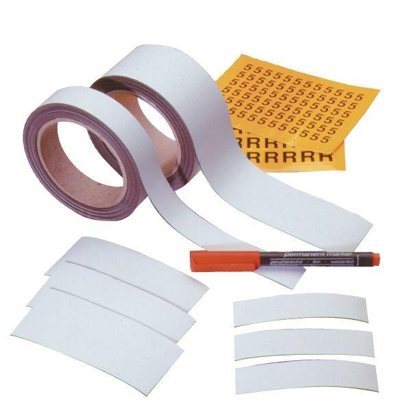 Rubans magnétiques 1 face blanche imprimable