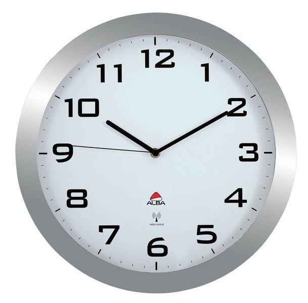 Horloge radio-pilotée diam. 30 et 38 cm