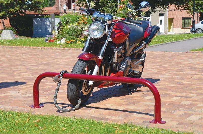 Support motos forme arceau