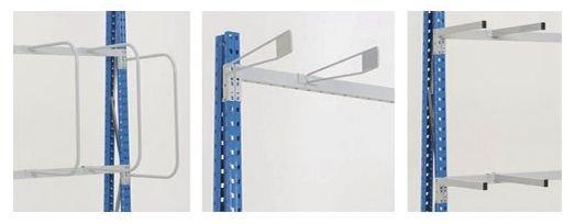 Séparations pour stockage vertical charges longues