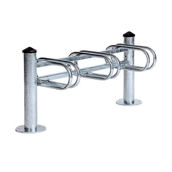 Range-vélos sur potelets simple ou double face