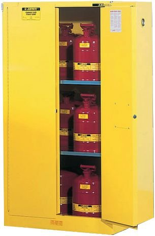 Armoires de sécurité pour produits inflammables