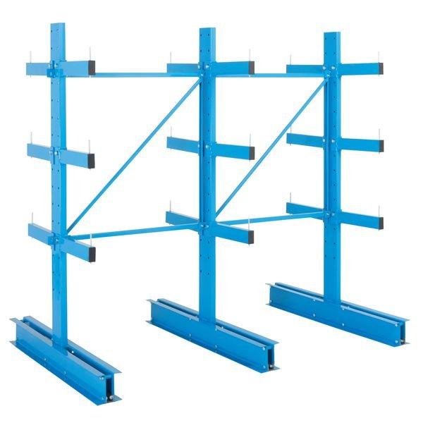 Rayonnage charges longues horizontales légères