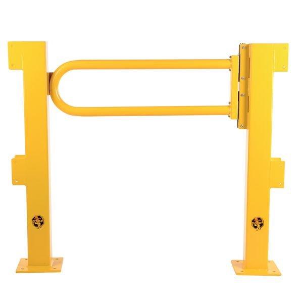 Porte battante pour barrière de protection TÜV