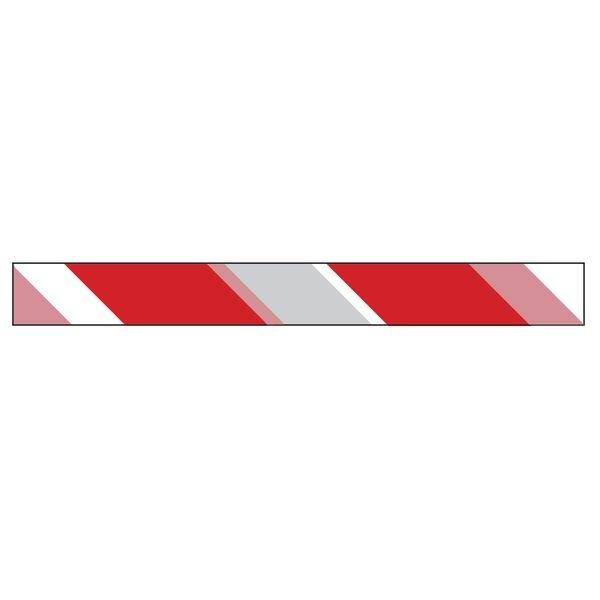 Ruban Chantier Rouge/Blanc Rétroréfléchissant 250 m