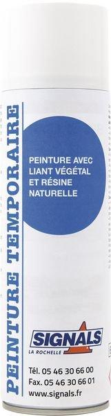Aérosols de peinture temporaire naturelle