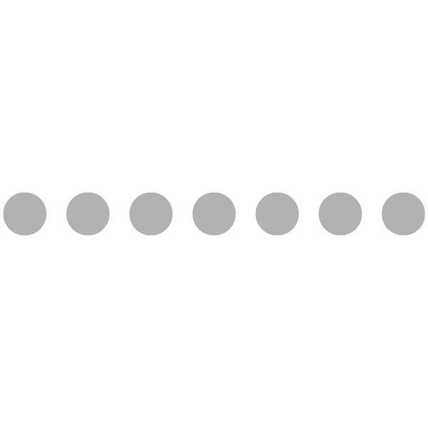 Bande 7 cercles Ø 100 mm ou 4 Ø 180 mm