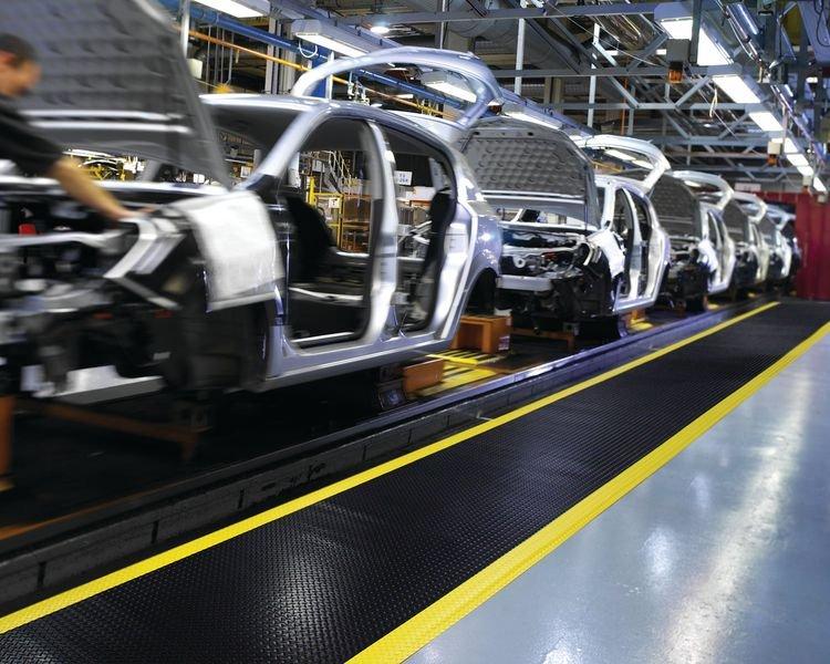 Tapis production PVC