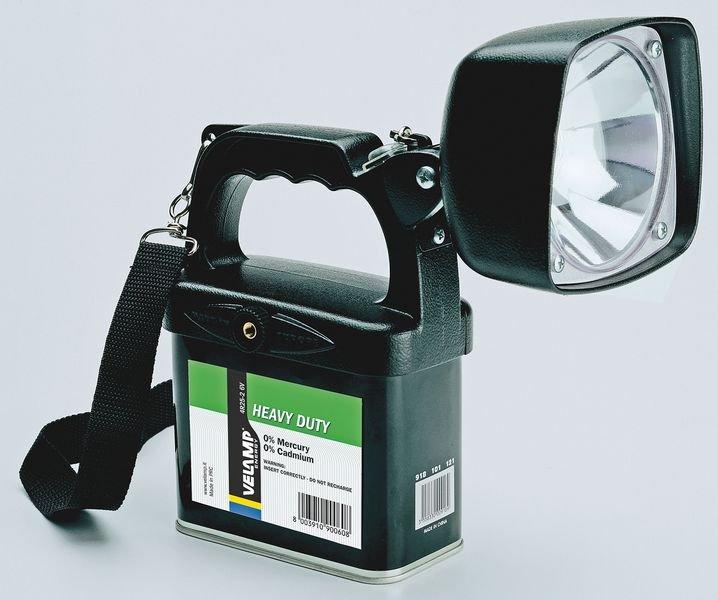 Projecteur portable Halogene en aluminium