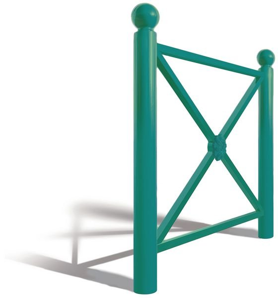 Les barrières croix simple ou grillagée