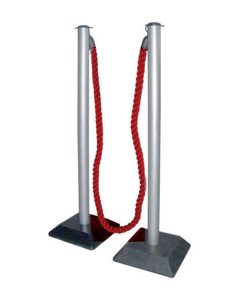 Kit Poteaux et corde de réception longueur 2 m